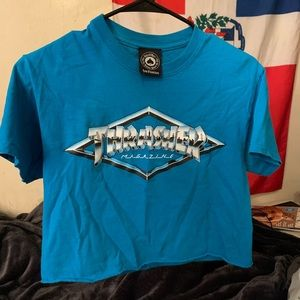 cropped thrasher t-shirt